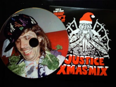 Justice Xmas Fabric unreleased