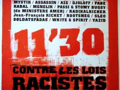 11'30 contre les lois racistes