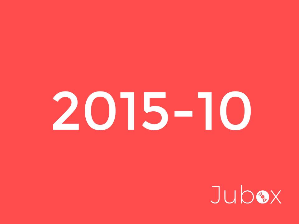 Octobre 2015 playlist