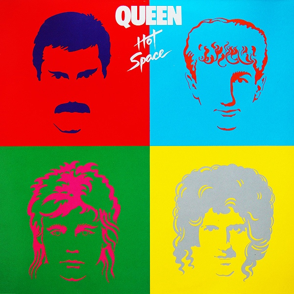 Queen Hot Space cover