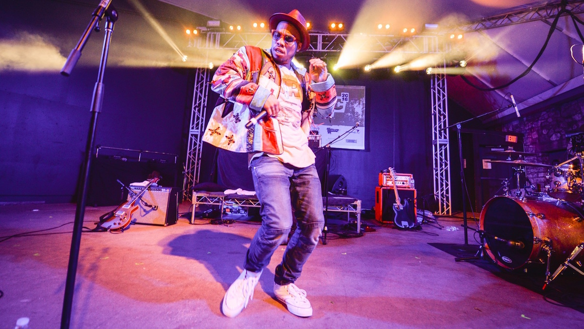 Anderson .Paak grooves hard at the NPR Music SXSW showcase.