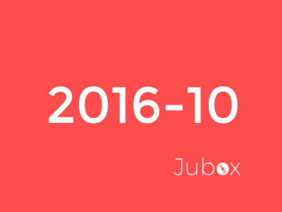 Playlist Octobre - Jubox