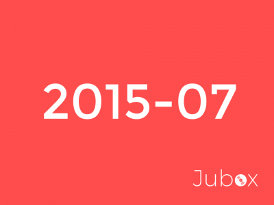 Juillet 2015 playlist