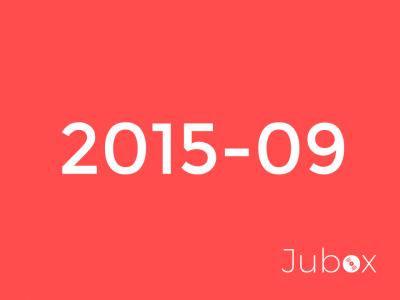 Septembre 2015 playlist
