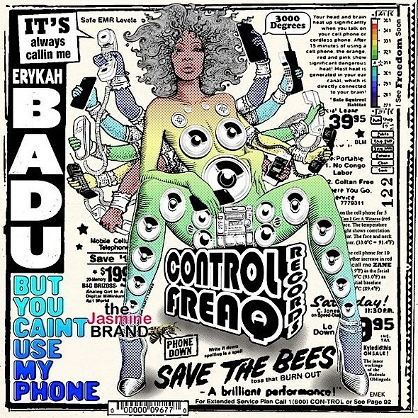 Erykah Badu - But you caint use my phone Mixtape