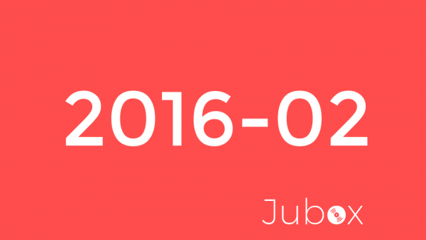 2016 février playlist