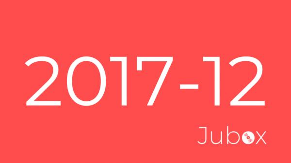 2017 Décembre playlist Jubox